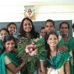 Sensitizing B.Ed students at Immaculate college, Pondicherry