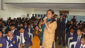 Kalki at Montfort School,Yercaud